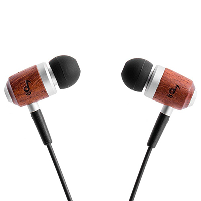 ZealSound Genuine Wood Earphones