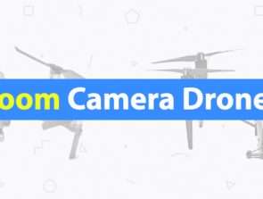 3 Camera Drones with Optical and Digital Zoom