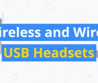 best wireless and wired usb headsets