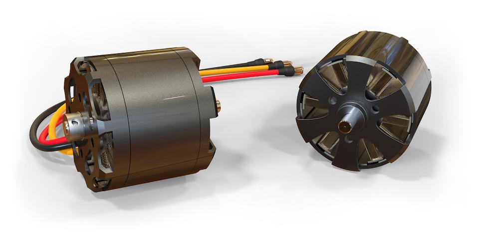 Brushed Electric motors for RC models