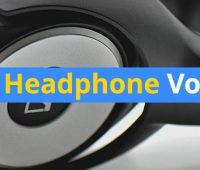 ideal headphone volume
