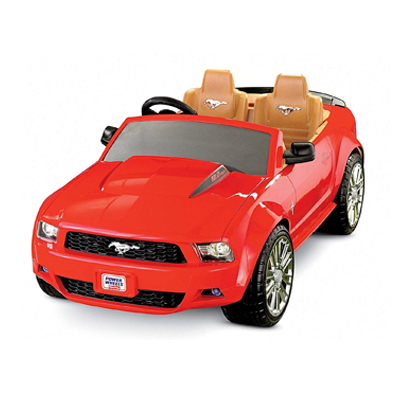 Fisher-Price 2-Speed Sporty Mustang
