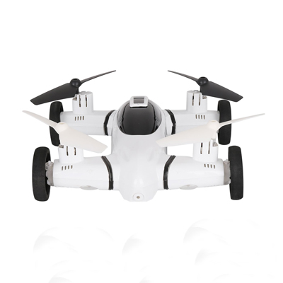 Flying F809 RC Car Drone Car W/ 720P HD Camera