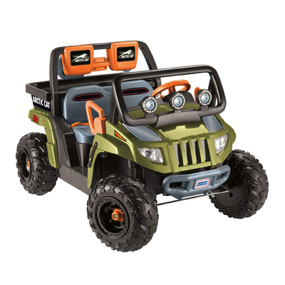 Power Wheels Arctic Cat 1000 W/ Shovel