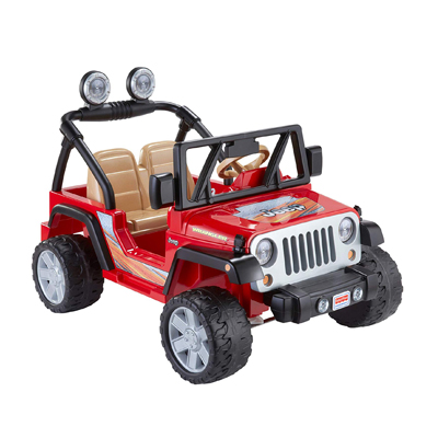 Power Wheels Multi-Terrain Jeep Wrangler