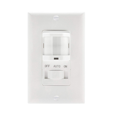 TOPGREENER TSOS5-W In Wall PIR Motion Sensor Light Switch
