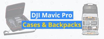 best dji mavic pro cases and backpacks