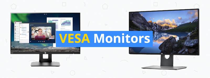 5 Best Monitors with VESA Mount Support