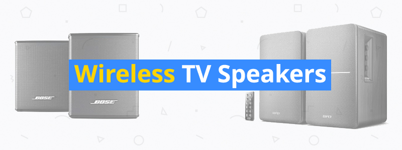10 Best Wireless TV Speakers of 2019