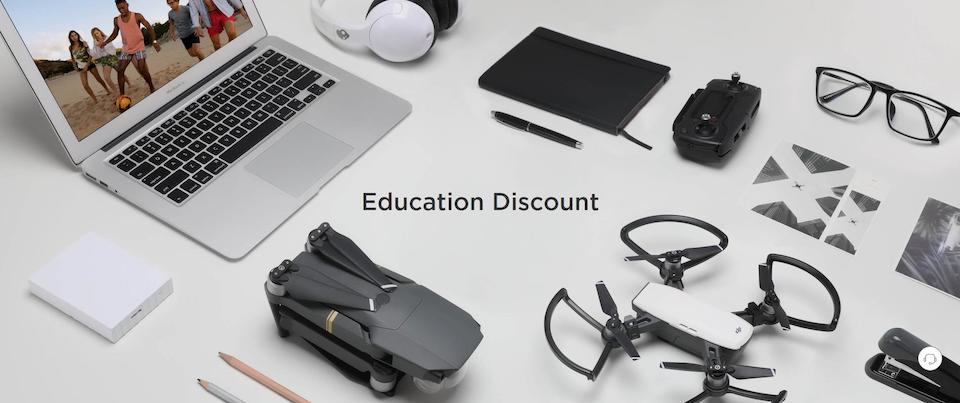 How to Get the DJI Educational Discount