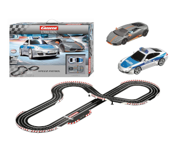 Carrera Evolution Patrol Slot Car Race Set