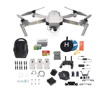 DJI Mavic Pro Platinum Quad Fly More Combo