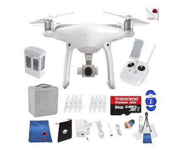DJI Phantom 4 Camera Quad Starter Bundle