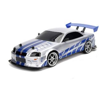 High-Speed Nissan Skyline GT-R Drift Race Car
