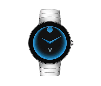 Movado Connect Digital Smart Module Stainless Steel Smartwatch