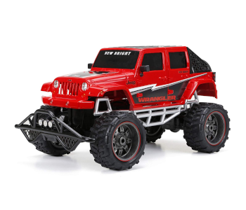 New Bright RC 4-Door Open-Back Jeep Car