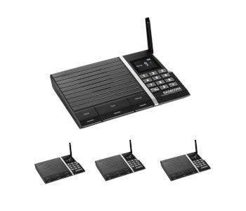 Samcom 10-Channel Wireless Intercom System
