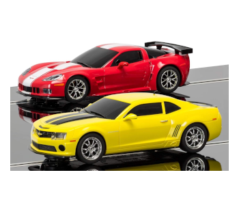 Scalextric American Racers C1364T Slot Car Racers
