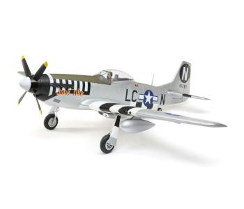 E-flite BNF P-51D Silver Mustang RC Warbird