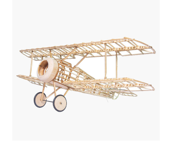 Mini Camel Fighter Balsa Wood RC Airplane Kit