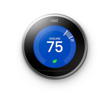NEST LEARNING THERMOSTAT 3RD GEN SMART THERMOSTAT