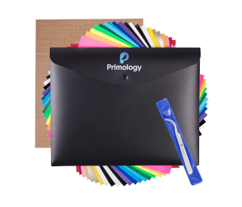 Primology Heat Transfer Vinyl 20 Pack Bundle