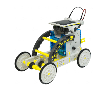 Robotikits 14-in-1 DIY Solar Robotic Car
