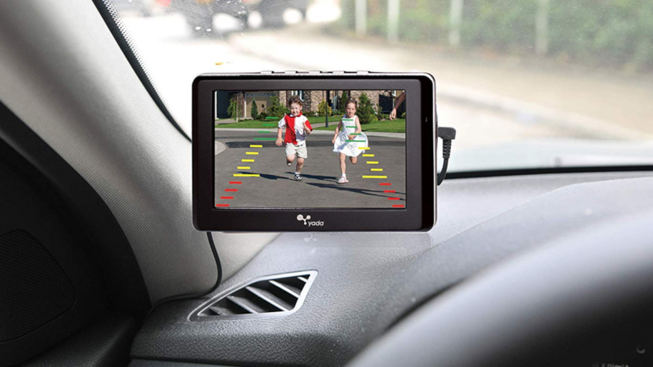 QuickVu Digital Wireless Backup Camera System with 7 Color Monitor Vehicle  Backup Cameras