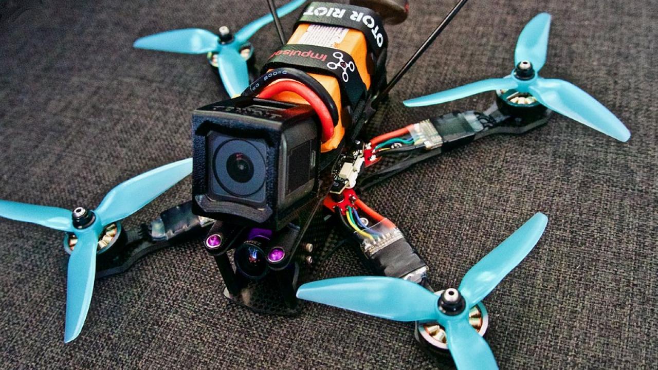 2Types FPV Drone Frame Kit Telaio quadricottero in Fibra di Carbonio 250MM con Bracci Telaio 3mm FPV per QAV250