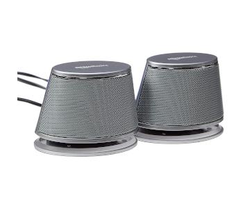 AmazonBasics USB-Powered PC Computer Speakers