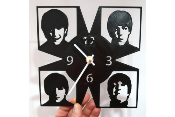Beatles wall clock