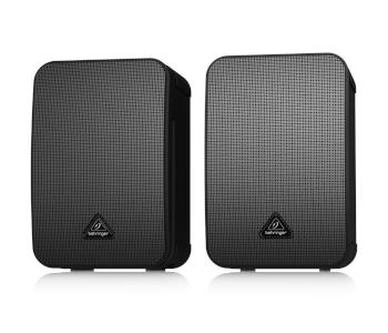 Behringer 1C-BK Ultra-Compact Studio Monitor Speakers