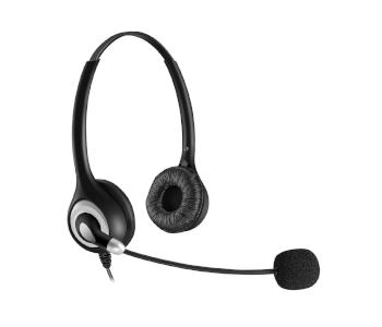 Bingle 2.5mm Binaural Telephone Headset