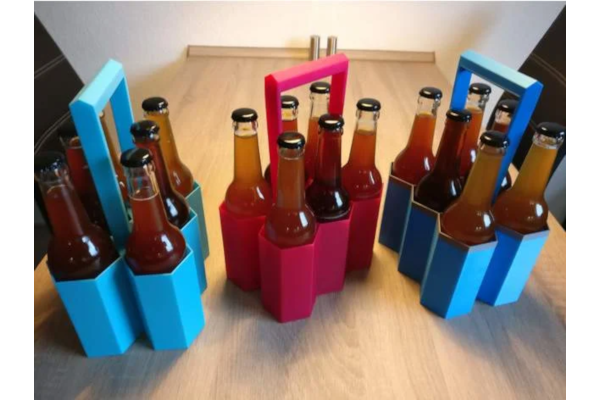Custom six-pack carrier