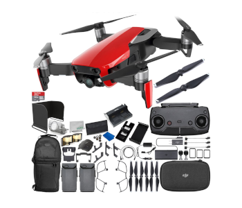 DJI Mavic Air 2019 Travel Camera Drone Bundle