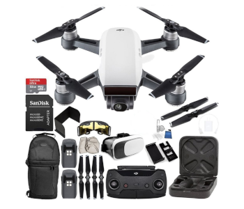 DJI Spark 2019 Mini Travel Drone Essential Bundle