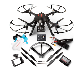 Force1 F100GP Ghost 2019 GoPro Compatible Drone