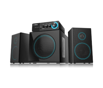 Ineo Wooden 2.1 Computer Speakers
