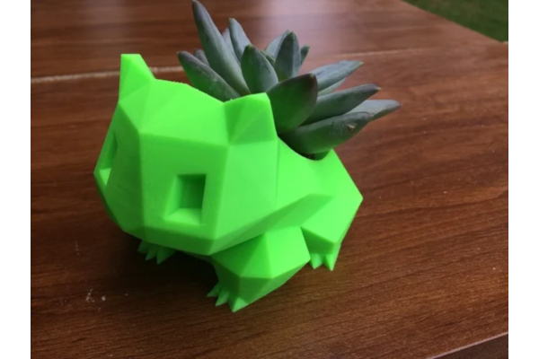 Low Poly Bulbasaur Planter