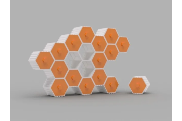 Modular hex drawers