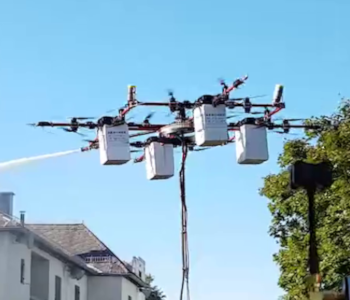 Aerones Firefighting Drone