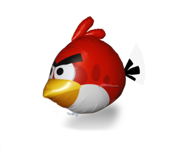 Air Swimmers Turbo Angry Bird Blimp