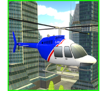 City Helicopter APP Simulator Game