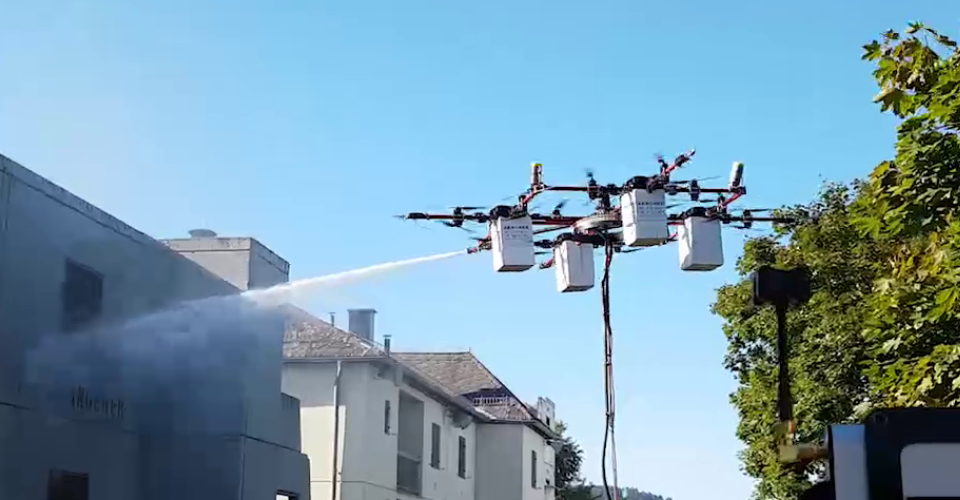 Drones and Firefighting: A Life-Saving Combination