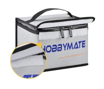 HOBBYMATE Fireproof Explosionproof Lipo Safe Bag