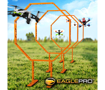 Quadcopter Drone Racing Obstacle Course