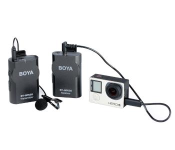 BOYA WM2G Lavalier Wireless Mic for GoPro