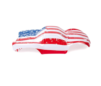 Custom US Flag Body for RC Vehicles