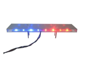 Realistic Metal LED Police Light Bar