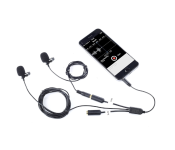 Movo Pro Clip-on Interview Podcast Mic